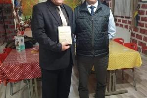 Eğitimci Kenan PEHLİVAN ve Yazar Oğuz ÖZDEM hocamızla bir araya geldik...