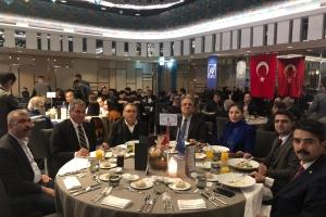 Genç Nevşehirliler NEVBİAD'ın Türkiye-Çin işbirliği toplantısına katıldı.