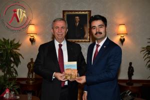 Genç Nevşehirliler Başkanından Mansur Yavaş'a Ziyaret