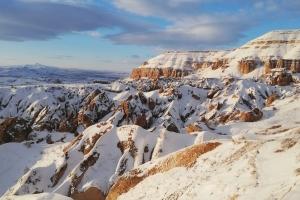Kapadokyadan Kar Manzaraları