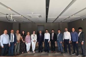 Nevbiad Başkanı Sn. Kazım TEKİN ile Ankara'da bir toplantı yaptık...