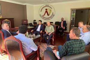Nevşehir Milletvekili Yücel Menekşe'den Genç Nevşehirliler Derneğine hayırlı olsun ziyareti