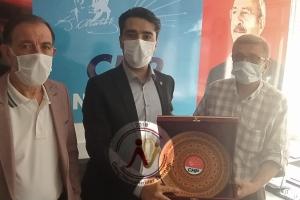 Nevşehir CHP İl sekreteri Tayfun Ceyhan'a ve yönetimine ziyaret gerçekleştirdik.