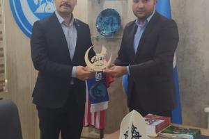Nevşehir Ülkü Ocakları Başkanı Ali Türker'e ziyaret.