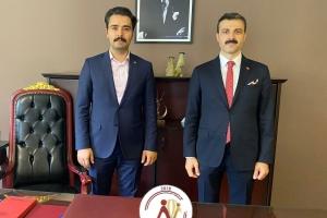 Sağlık Bakanlığı Özel Kalem Müdür Yardımcısı Yaşar KELEŞ'ten anlamlı ziyaret.