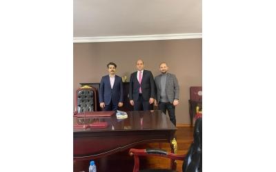 Genç Nevşehirliler Derneği Ankara'da yeni adresinde ilk misafirini ağırladı.