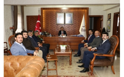 Nevşehir Valisi Sayın İlhami AKTAŞ'a Ziyaretimiz...