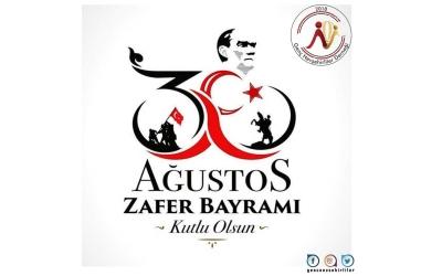 30 Ağustos Zafer Bayramını Kutluyoruz