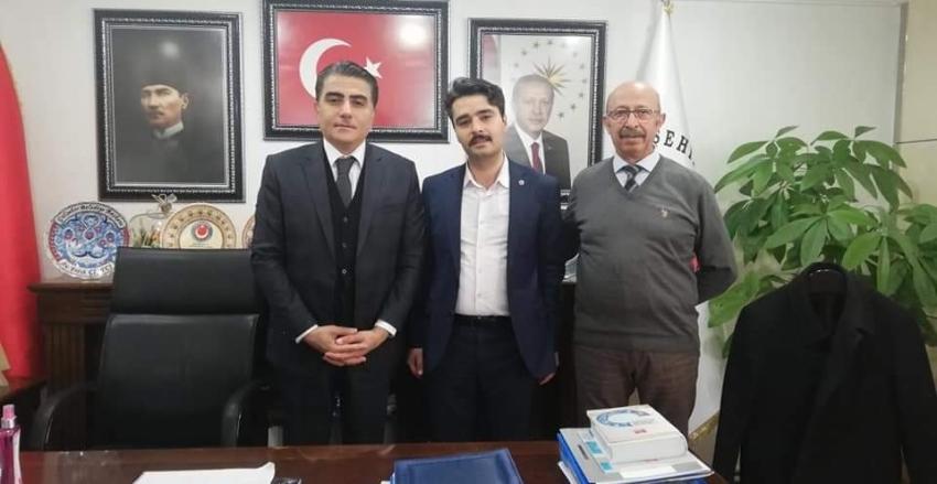 Gülşehir Belediye Başkanı Sayın Fatih ÇİFTÇİ'Yİ Ziyaret Ettik...