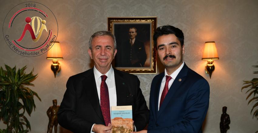 Genç Nevşehirliler Derneği Başkanından Mansur Yavaş'a Ziyaret