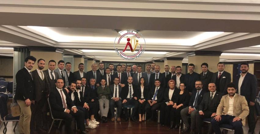 Genç Nevşehirliler, Ankara T.O.B.B İkiz Kulelerinde Bir Araya Geldiler.
