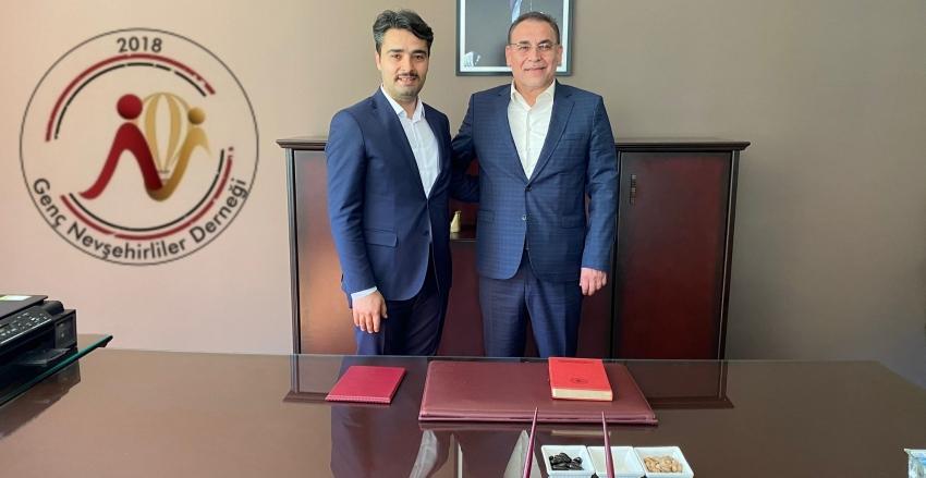 Nevşehir Milletvekili Yücel Menekşe'den hayırlı olsun ziyareti.