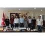 Hacıbektaş Belediye Başkanı Arif Yoldaş ALTIOK\'a ziyaret