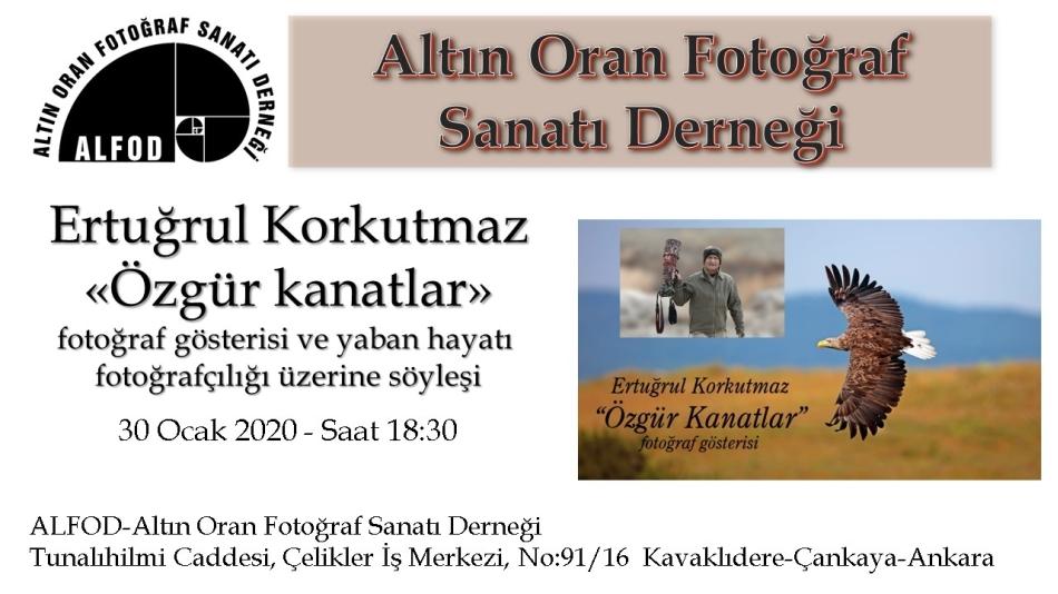Ertuğrul KORKUTMAZ - Özgür Kanatlar Fotoğraf Sergisi