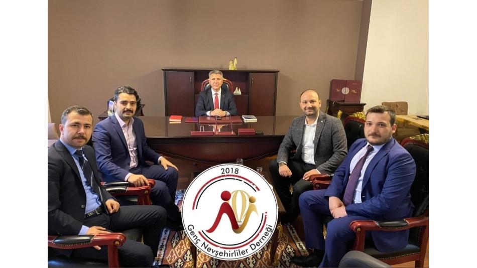 Genç Nevşehirliler Derneği, Ankara Vali Yardımcısı Abdullah DÖLEK'i ağırladı.